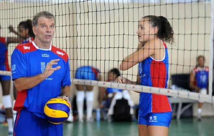 Bernardinho e Gabi - vôlei (Foto: André Durão)