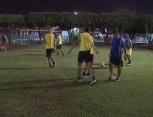 Treino do Spinners para a Taça Brasil (Foto: Reprodução/ TV Rondônia)