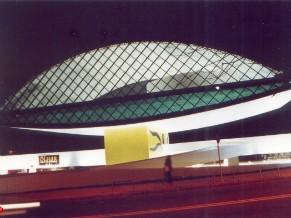 Museu Oscar Niemeyer, em Curitiba (PR) (Foto: Divulgação/Nani Góes)