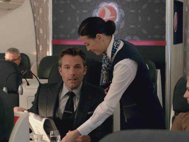 Ben Affleck estrela comercial da Turkish Airlines (Foto: Reprodução/Twitter)