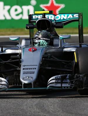 Nico Rosberg treino GP da Itália