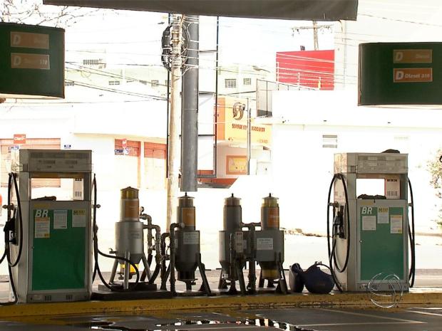 Frame postos combustíveis (Foto: Reprodução/ TV Morena)