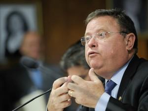 O senador Blairo Maggi (PR), de Mato Grosso. (Foto: Lia de Paulo / Agência Senado)