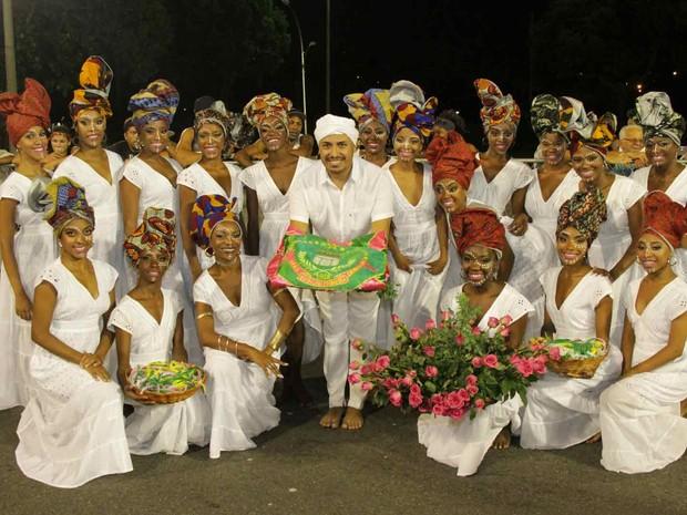 Coreógrafo Júnior Scapin fez seleção entre 278 candidatas para a comissão de frente da Mangueira (Foto: Thiago Mattos/ Divulgação Mangueira)