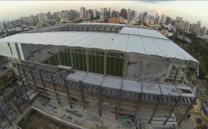 Frame Arena da Baixada Curitiba (Foto: Reprodução)