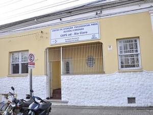 Centro de Atenção Psicossocial para álcool e drogas oferece atendimento em Rio Claro (Foto: Divulgação)