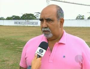 Edson Reis, presidente do Rio Branco - Campos dos Goytacazes - RJ (Foto: Frame Inter TV)