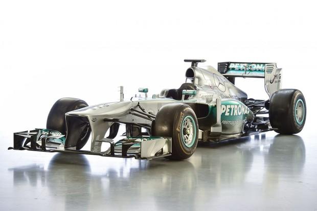 Mercedes W04 (Foto: Divulgação)