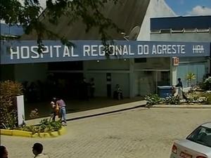 Hospital Regional do Agreste (Foto: Reprodução/ TV Asa Branca)