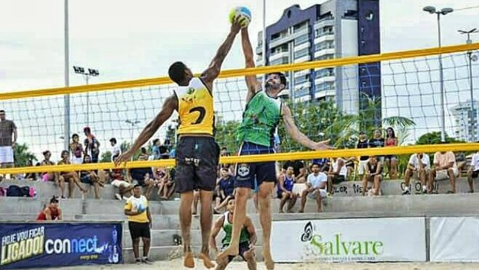 Dupla amazonense vai disputar o Beach Games Nacional, em Sergipe (Foto: Divulgação/Arquivo pessoal)