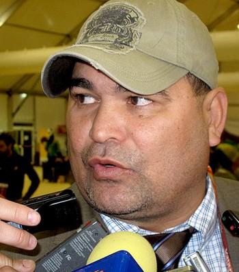 Chilavert entrevista jogo Chile (Foto: Thiago Dias / GLOBOESPORTE.COM)