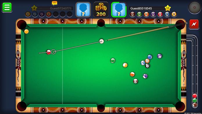 8 Ball Pool: confira dicas para mandar bem no game de sinuca (Foto: Reprodução)