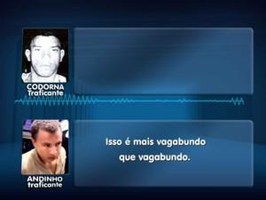 Escutas revelam que Andinho manda matar policiais (Foto: Reprodução/EPTV)