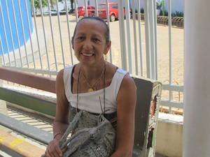 Com duas profissões, Eleusina quer trabalhar com direito (Foto: Elisangela Farias/G1 TO)