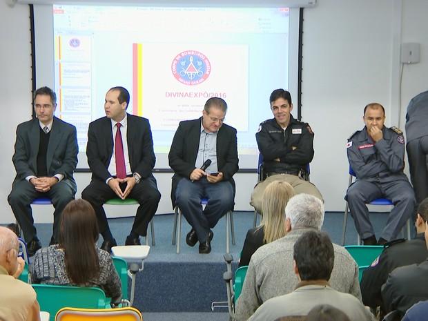 Coletiva Polícia Civil (Foto: Reprodução/TV Integração)