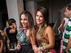 Que dupla! Anamara e Babi Rossi curtem a noite carioca