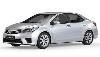 Toyota Corolla GLi 2015 perde rodas de liga-leve e sistema de som (Foto: Divulgação)