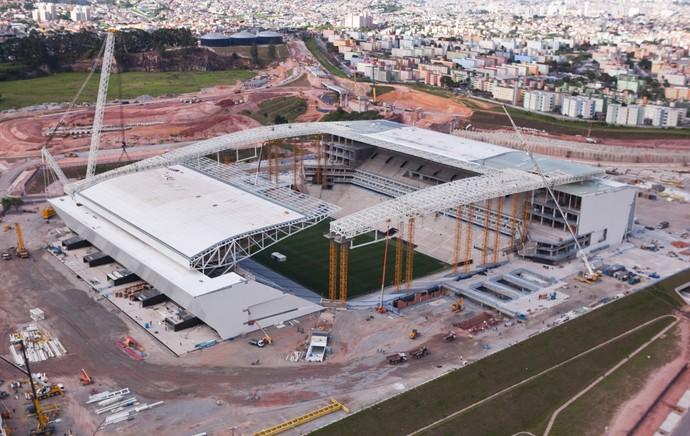 estádio itaquerão  (Foto: Divulgação  )
