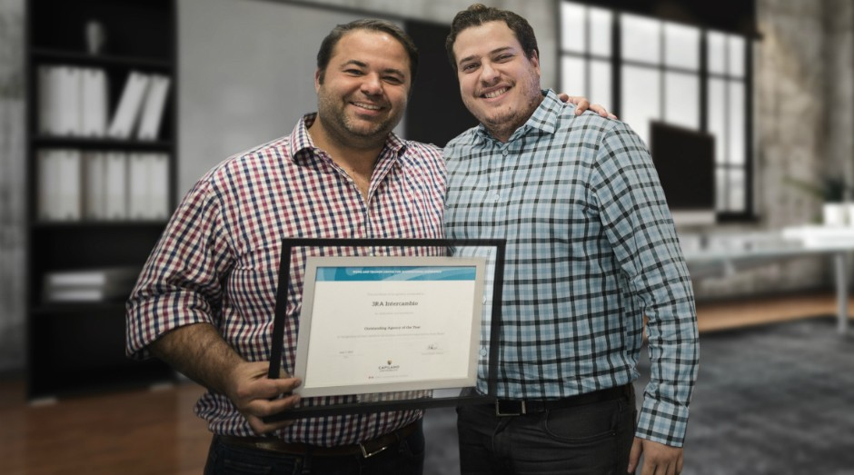 Francisco Zarro e Albert Abrantes, os fundadoras da 3RA (Foto: Divulgação)