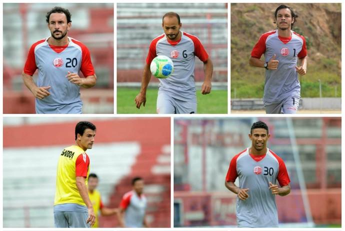 náutico dispensas (Foto: Aldo Carneiro / Pernambuco Press)