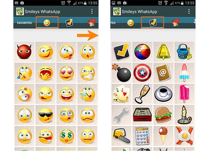 Abra o aplicativo e encontre o emoji que mais gostar (Foto: Reprodução/Barbara Mannara)