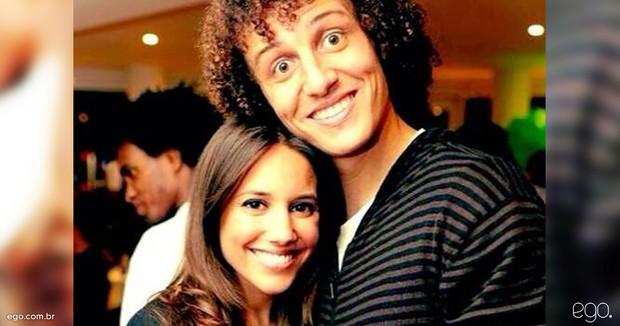 David Luiz e Sara Madeira (Foto: Instagram / Reprodução)
