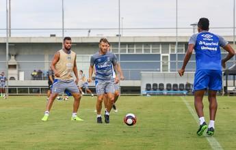 """Após recado de Renato, Fernández fica de olho em primeiros """"90 minutos"""""""