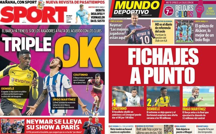 capas Sport e Mundo Deportivo