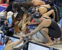 No embalo de Ledecky, 4x200m livre dos EUA é bicampeão olímpico no Rio