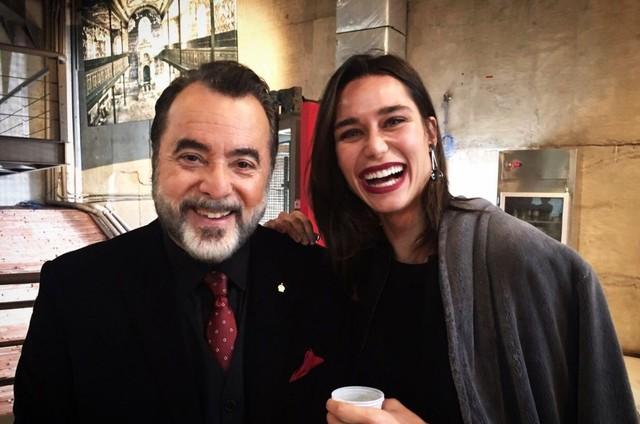 Tony Ramos e Rhay Polster  (Foto: Divulgação)