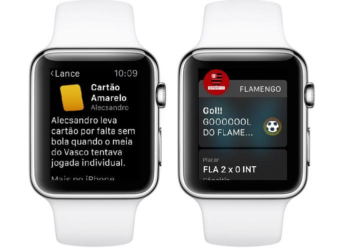 Apps de times oferecem calendário, alertas de gols e mais dados (Foto: Divulgação/SporTV)