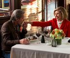 Gary Cole e Christine Baranski em The Good Wife   Reprodução