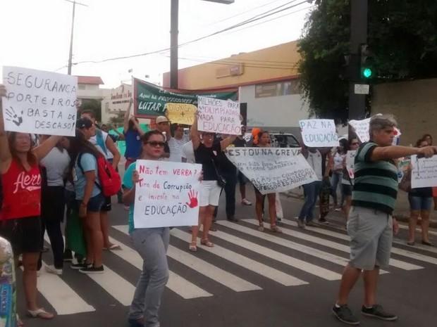 Docentes atuam em duas escolas estaduais no municipio (Foto: Divulgação)