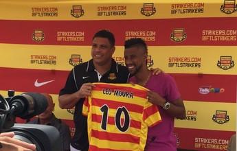 Sócio dos Strikers, Ronaldo diz que Léo Moura nunca falou sobre saída