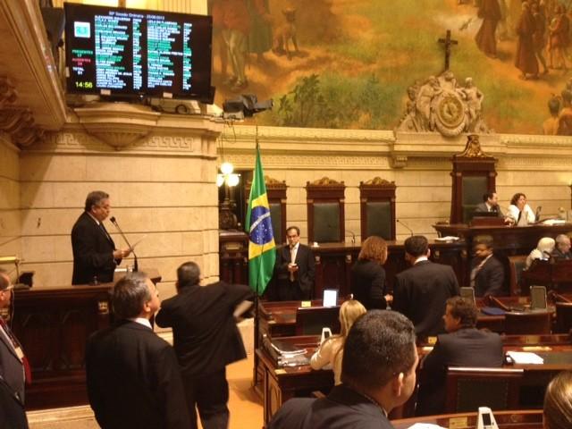 Maioria dos vereadores concordou em dar entrada para realização da CPI dos ônibus (Foto: Mariucha Machado/ G1)