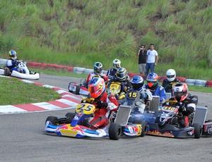 Pilotos da categoria graduados no Kartodramo João Sallem, na terceira etapa do Campeonato Maranhense (Foto: Divulgação/William Camizão)