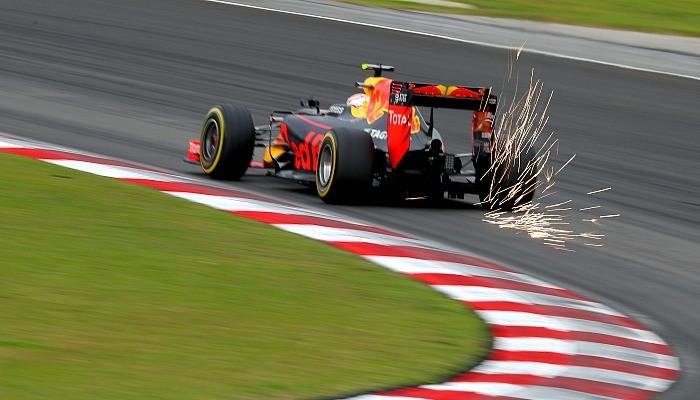 Max Verstappen no treino do GP da Malásia