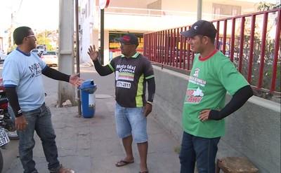 Salgueiro, torcida (Foto: Reprodução / TV Grande Rio)