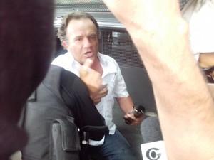 Marcos Santos afirma que é vítima de uma trama política.  (Foto: Derek Gustavo/G1)