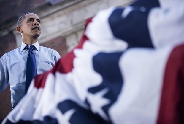 Obama fala a eleitores em Ohio nesta quarta-feira (17) (Foto: AFP)
