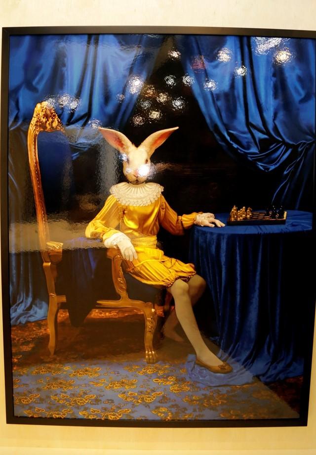 A obra Príncipe Conejo, de Adriana Duque (Foto: Divulgação)