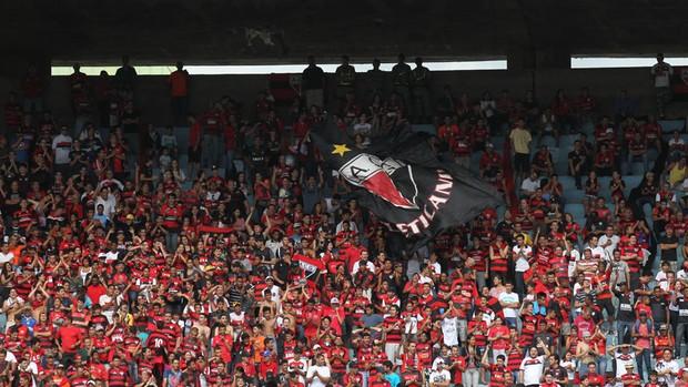 Torcida - Atlético-GO (Foto: O Popular)