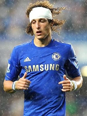 David Luiz, Chelsea x Newcastle (Foto: AFP)