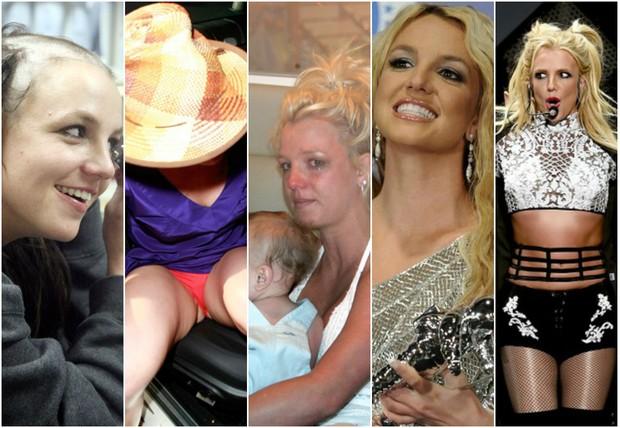 Britney Spears surtou em 2007 e deu a volta por cima (Foto: Reprodução)
