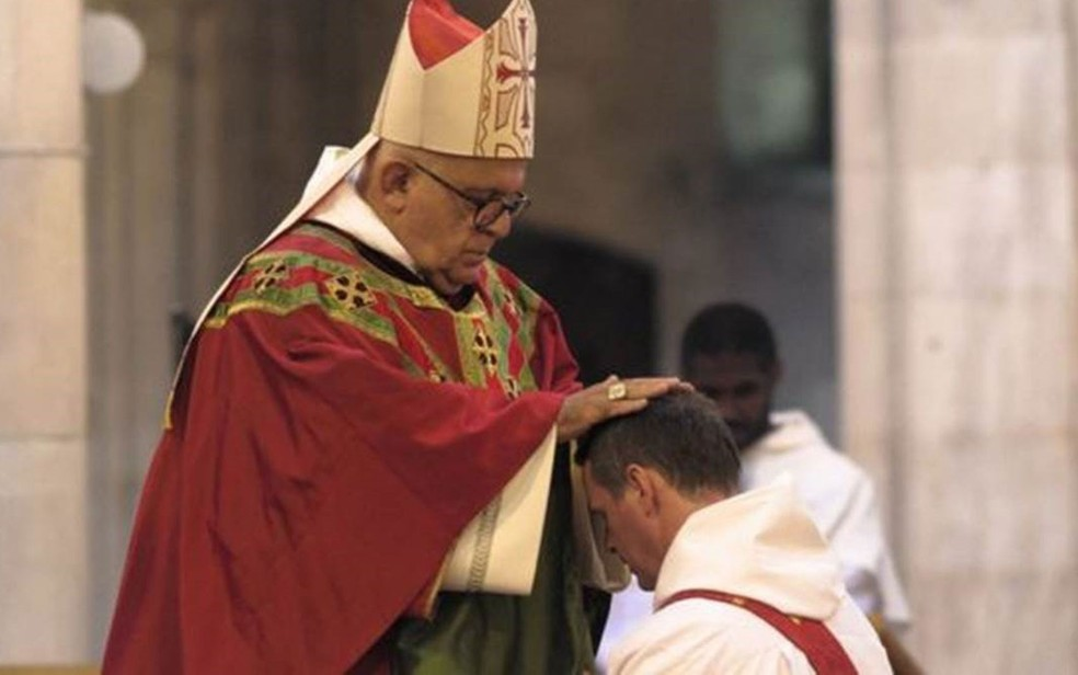 Philip Mulryne foi ordenado pelo arcebispo Di Noia, um nome poderoso no Vaticano (Foto: Philip McShane)