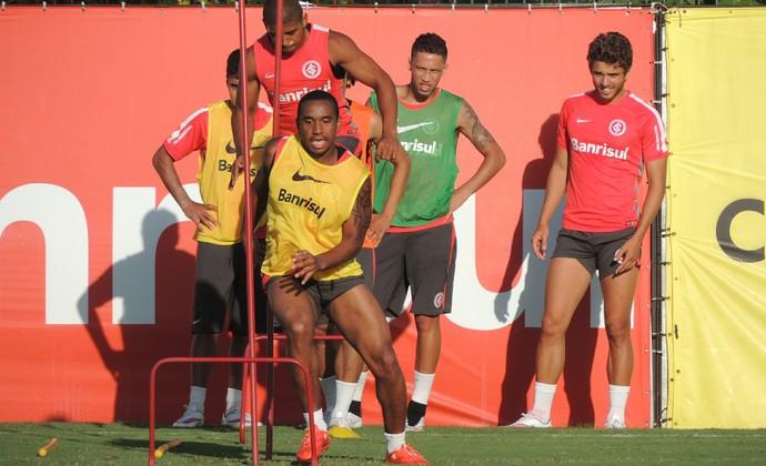 Anderson Taiberson Alisson Farias Lucas Marques Cláudio Winck Inter (Foto: Tomás Hammes / GloboEsporte.com)