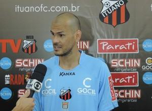 Fábio, goleiro do Ituano (Foto: Emilio Botta)