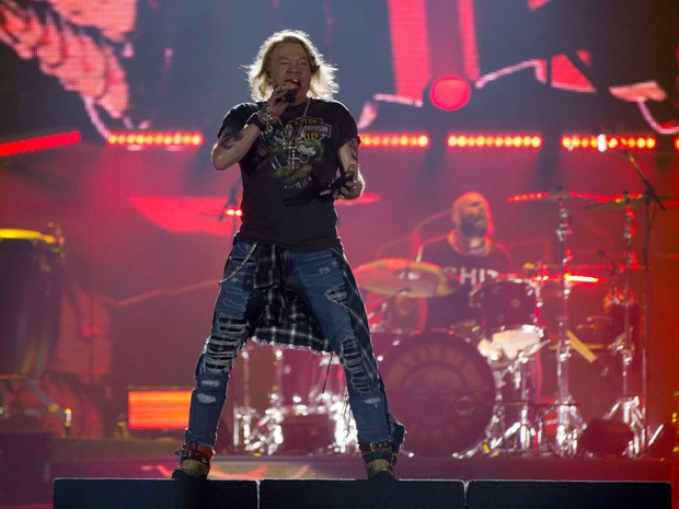Guns N' Roses (Foto: Andr Bittencourt)