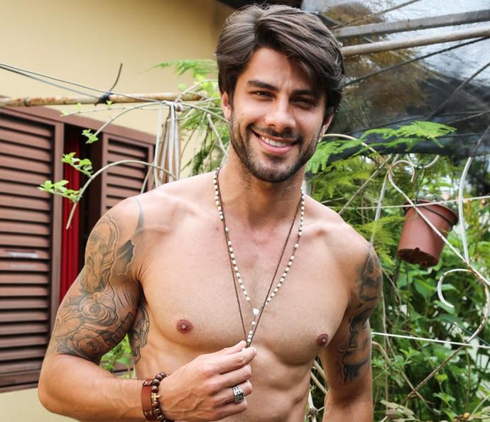 Renan revela que já fez sexo em local público (Foto: Fernanda Frozza/Gshow)