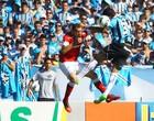 Jogo do adeus termina em briga e 0 a 0 (Lucas Uebel/Divulgação, Grêmio)